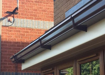 Gutter and Fascia detail